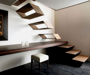 Floating Stairs at The Gray Hotel