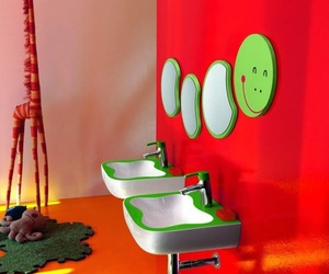 Florakids Colorful Bathroom Design Ideas from LAUFEN
