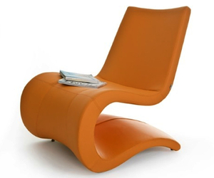 Flow Lounge Chair by Alp Nuhoglu