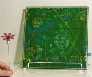 'Flower Power' Solar Windows from Sony