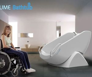 Flume Bath Tub A Boon For Disabled
