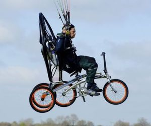 Flying Bicycles Need No License To Fly