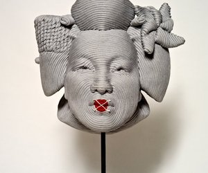 Foam Sculptures by Mozart Guerra