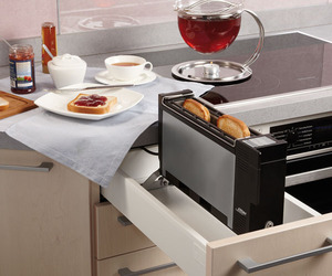 Fold-Down Toaster