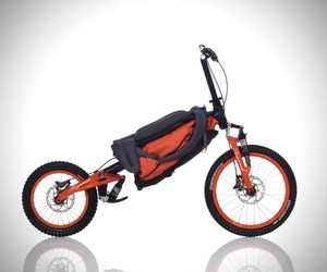Folding Backpack Bicycle