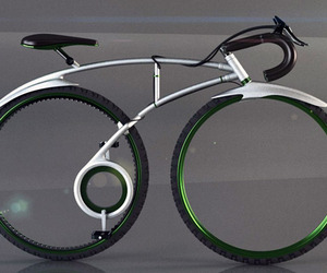 Folding Spoke-less Racing Bike Concept