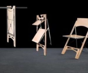 Folditure: Hangable Furniture