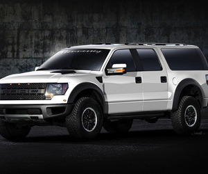 Ford VelociRaptor SUV by Hennessey