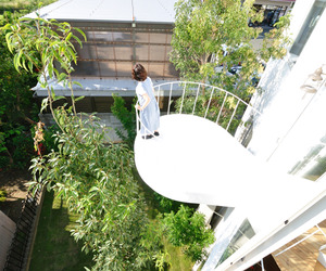 Forest House in the City by Studio Velocity