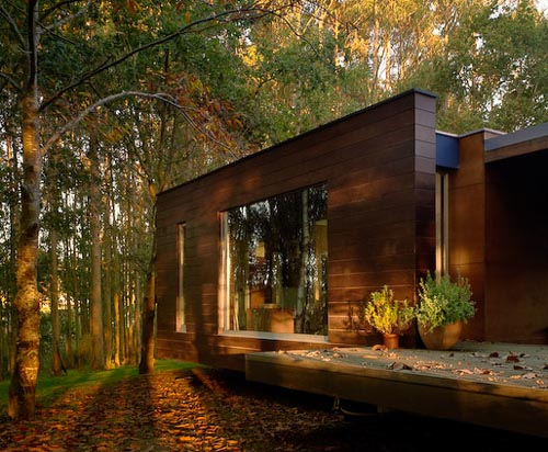 Spectacular Quot Forest House Quot Designed By Crecente Rosales