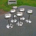 Forged Stainless Steel Wine Goblets