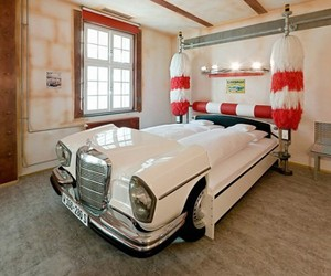 Formula 1 Cars Bed Concept In Lavish Germany Hotel