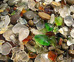 Fort Bragg's Beach of Glass