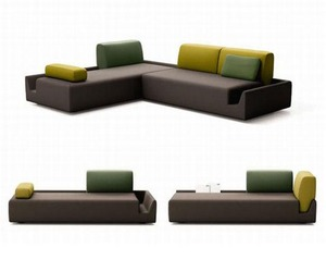 Fossa Sofa by Aurelien Barbry