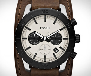 Fossil Keaton Leather Watch