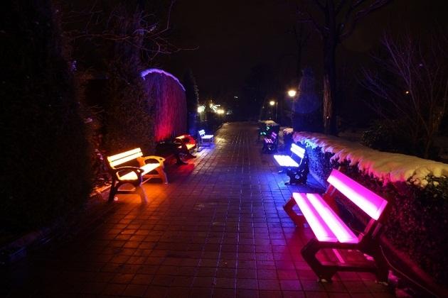 Foton Solar Powered Illuminating Furniture Hanmak