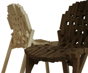 Frame Chair by Davide Gallo - Ouch! Studio