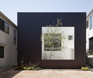 Frame house in Hiroshima by UID Architects