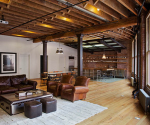 Franklin Street Loft in TriBeCa by Jane Kim Design