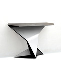 French Curve Console By Philip Michael Wolfson