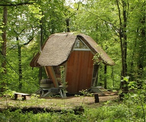 French Forest Hotel Pods