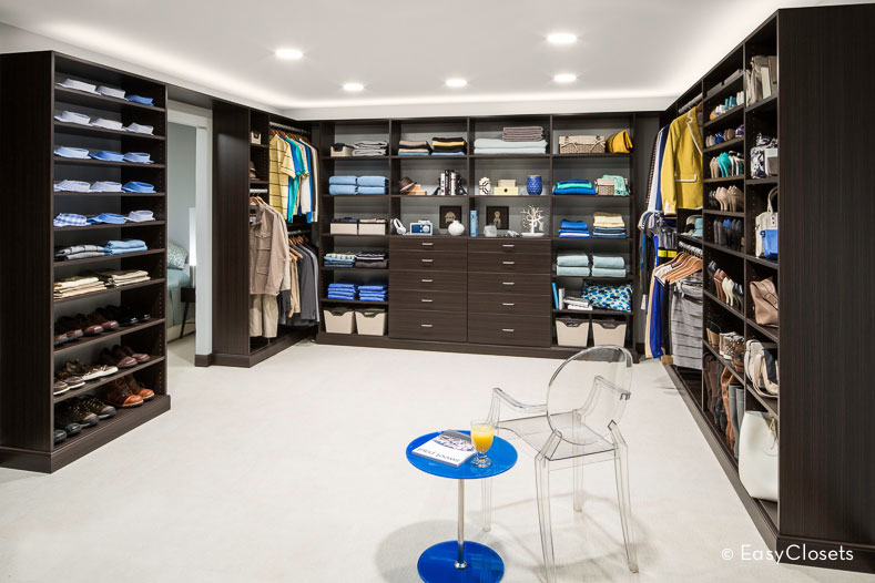 Non Walk In Closet Organization