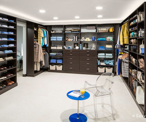 Organization French Roast Walk-In Closet
