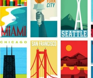 "From Sea to Shining Sea"" Travel Poster Series"