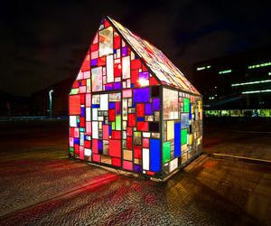 Fruin's Kolonihavehus by Tom Fruin