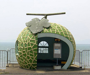 Fruit Shaped Bus Shelters