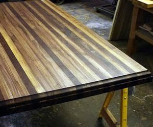 FSC Butcher Block Table Top