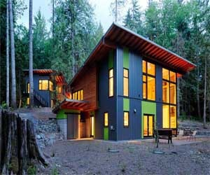 Full Color Forest Houses