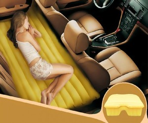 Fuloon Inflatable Back Seat Car Bed