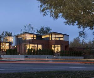 Funky townhouse design in Boulder Colorado