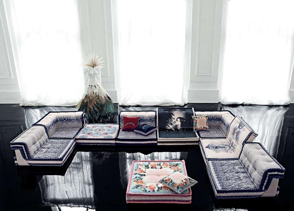 Furniture collection by jean paul gaultier for roche bobois - Roche bobois jean paul gaultier ...