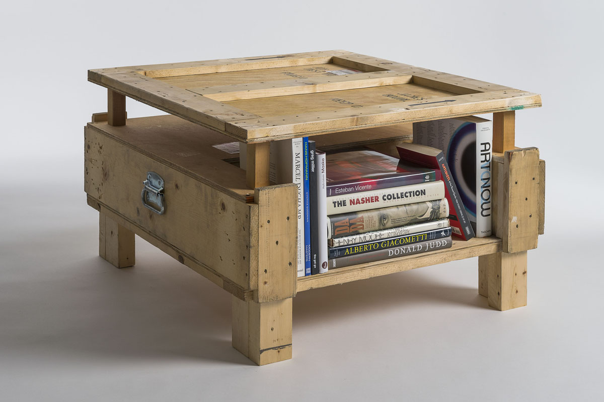 Furniture Made From Repurpoused Shipping Crates