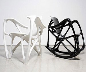 Furniture Made of Steel and Aluminum by Joris Laarman