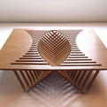 Furniture With a Figuratively Beating Heart: Rising Table