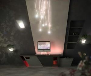 Futuristic Apartment Interior Design