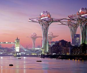 Futuristic City in the Sky by Tsvetan Toshkov