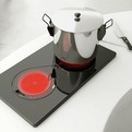 Futuristic Induction Cooking Pad Concept