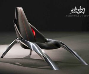 Futuristic KODO chair by Mazda