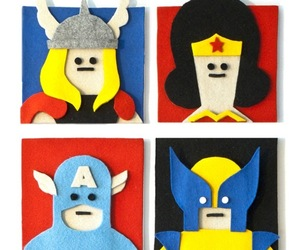 Fuzzy Felt Artwork by Jacopo Rosati