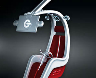 G-Shell Gadget Chair by Jamie Martin