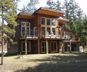 Gabriola Island house complete