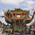 Gajumaru Tree House in Japan