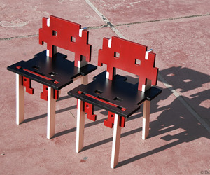 Game Over chair by DoKC Lab
