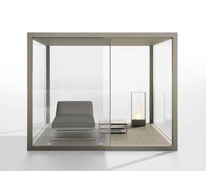 Gandia Blasco's Cristal Box Pergola