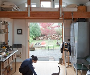 Garage Transformed into Beautiful Mini House