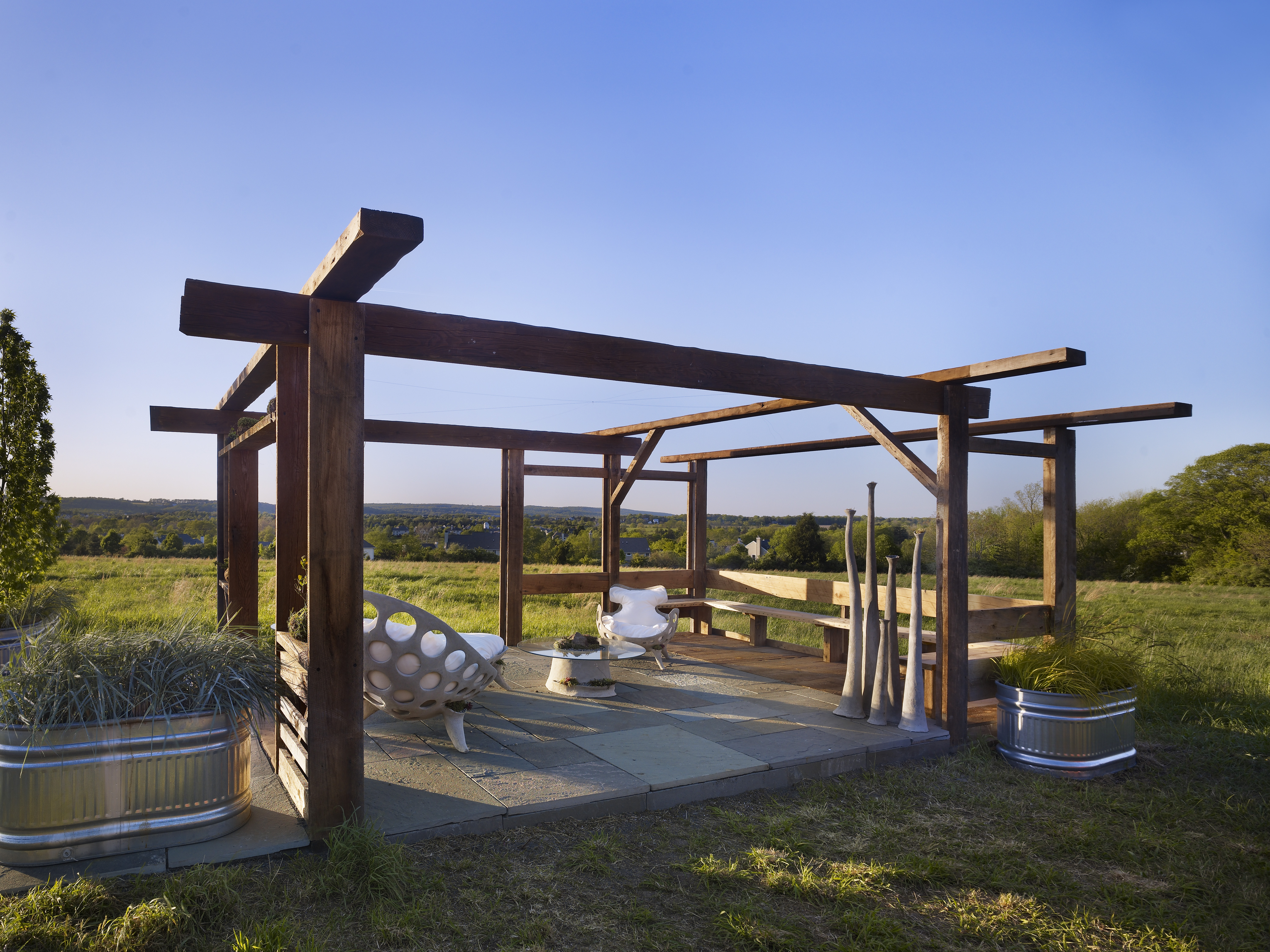 Garden Pavilion by Material Design + Build